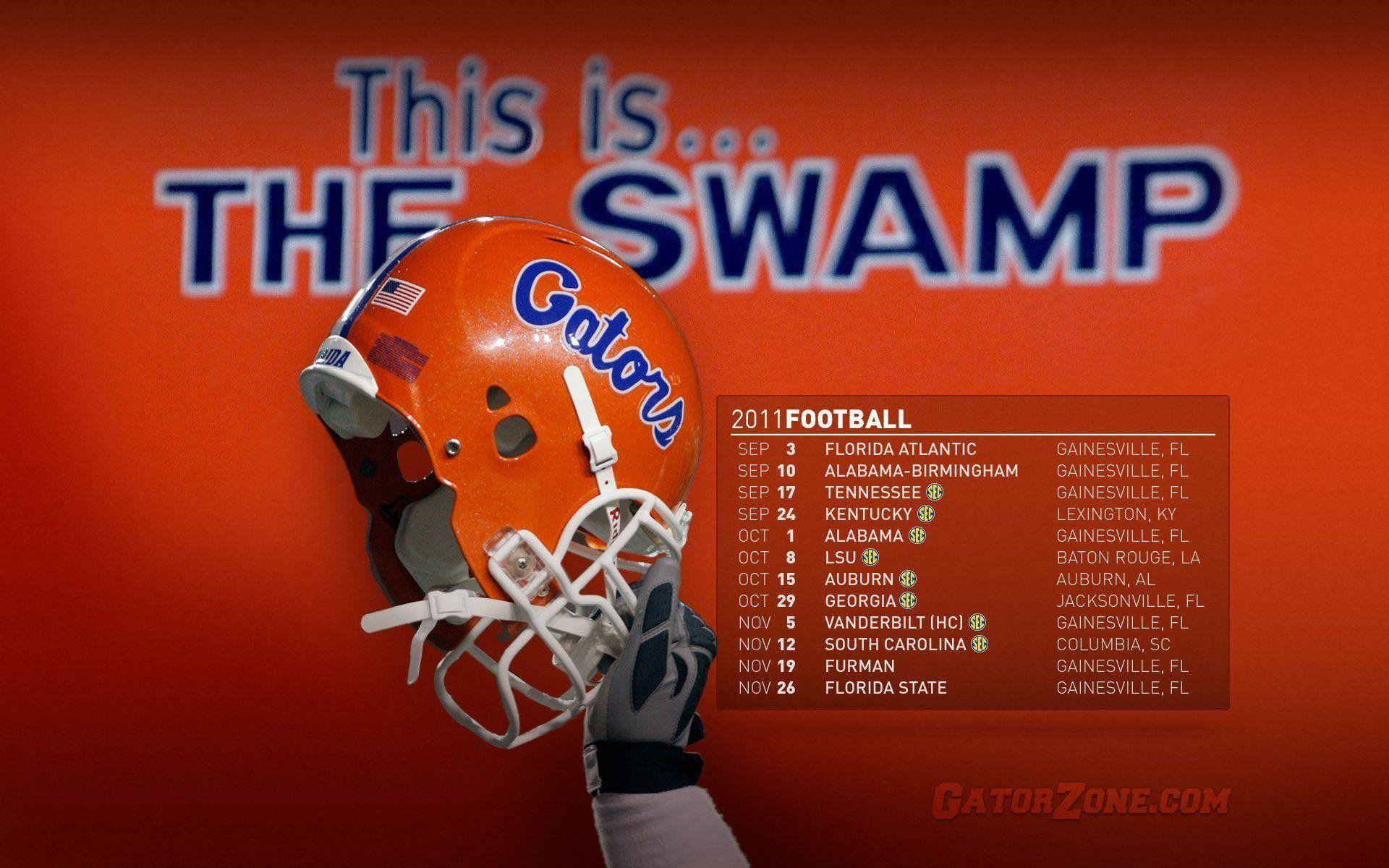 Unique Florida Gators Football Wallpaper