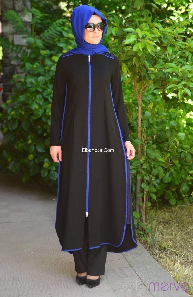 عبايات تركى سوداء موضة عبايات تركى صيفى موديلات عبايات 2014 Abayas Fashion Muslim Fashion Abaya Designs