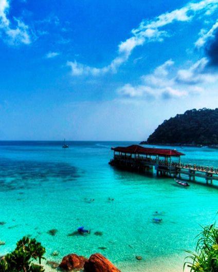 Malaysia Beaches: Pulau Perhentian Kecil, Malaysia