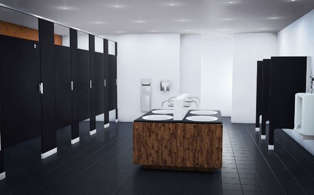 Bathroom Partitions Ideas black bathroom stalls | toilet partitions | pinterest | toilet