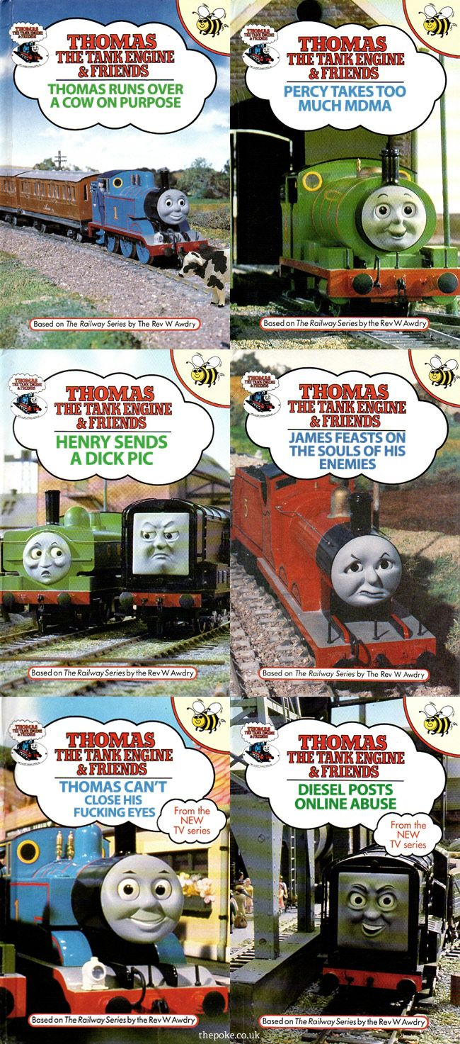Thomas The Tank Engine is a beloved children's franchise, so it