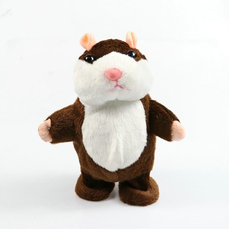 15cm Lovely Talking Hamster Speak Talk Sound Record Repeat Stuffed Plush Animal