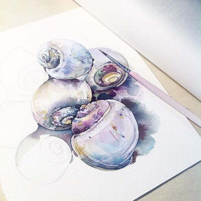 Watercolorist Katerina Mihailina 07 Waterblog Color