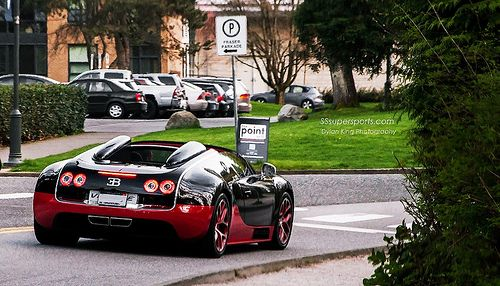 Bugatti Veyron Vitesse by Dylan King Photography