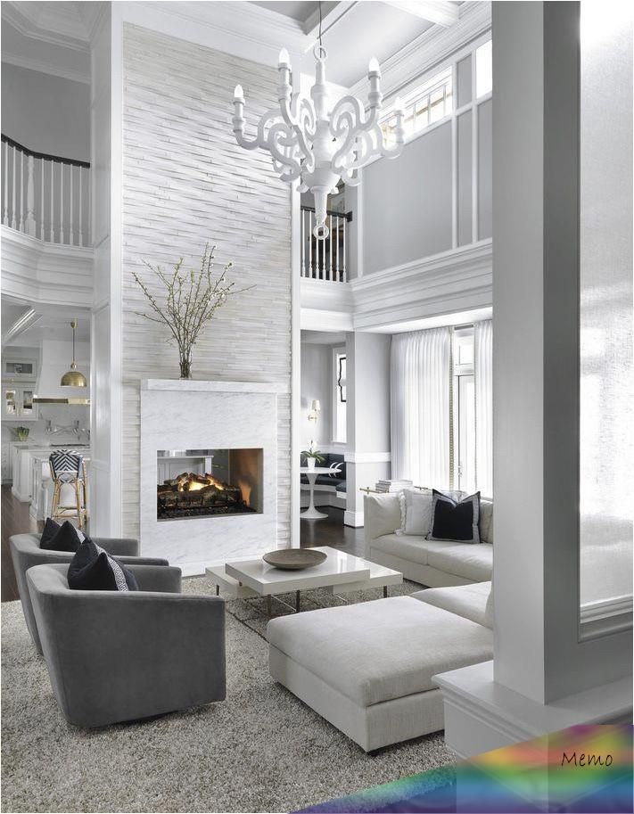 May 15, 2019 White living room decor, contemporary