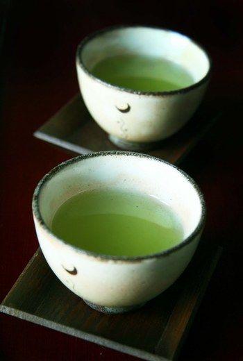 この緑が日本茶の特徴ですね。