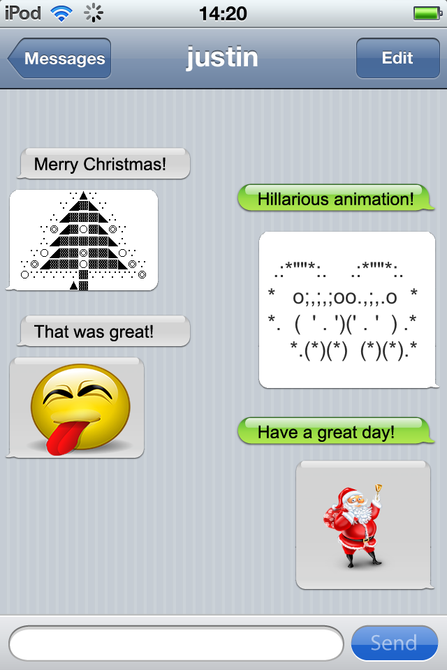 clever emoji texts