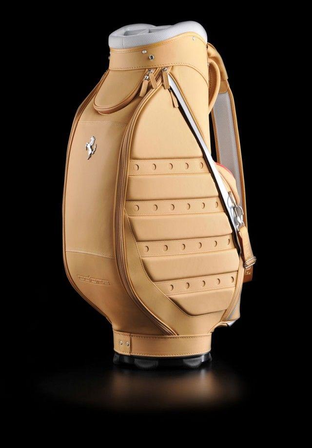 Ferrari Golf Bag Golf Bags Golf Gear Golf Collection