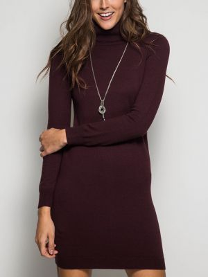 She + Sky Long Sleeves Turtleneck Bodycon Sweater Dress, Available at #EssentialApparel