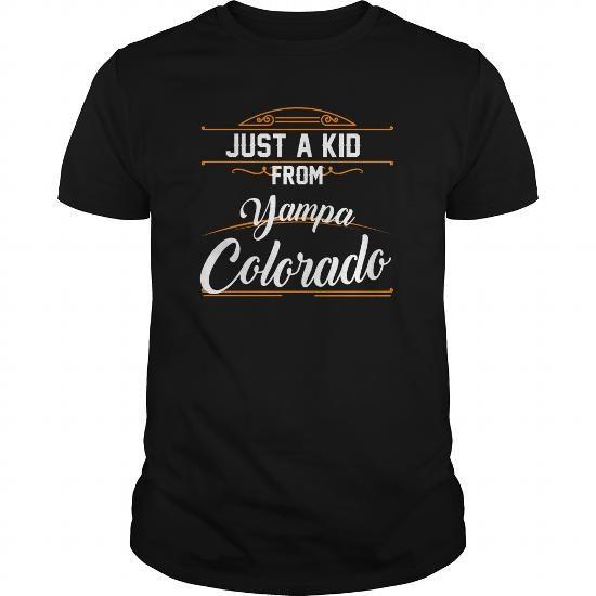 Cool A Kid From Yampa  Colorado Shirts & Tees #tee #tshirt #named tshirt #hobbie tshirts #kid