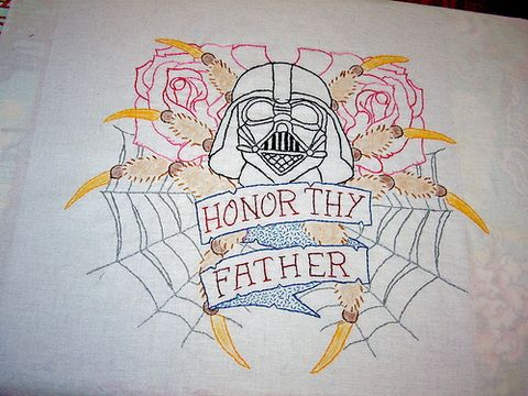 Star Wars Embroidery Pattern Embroidery Pinterest Embroidery