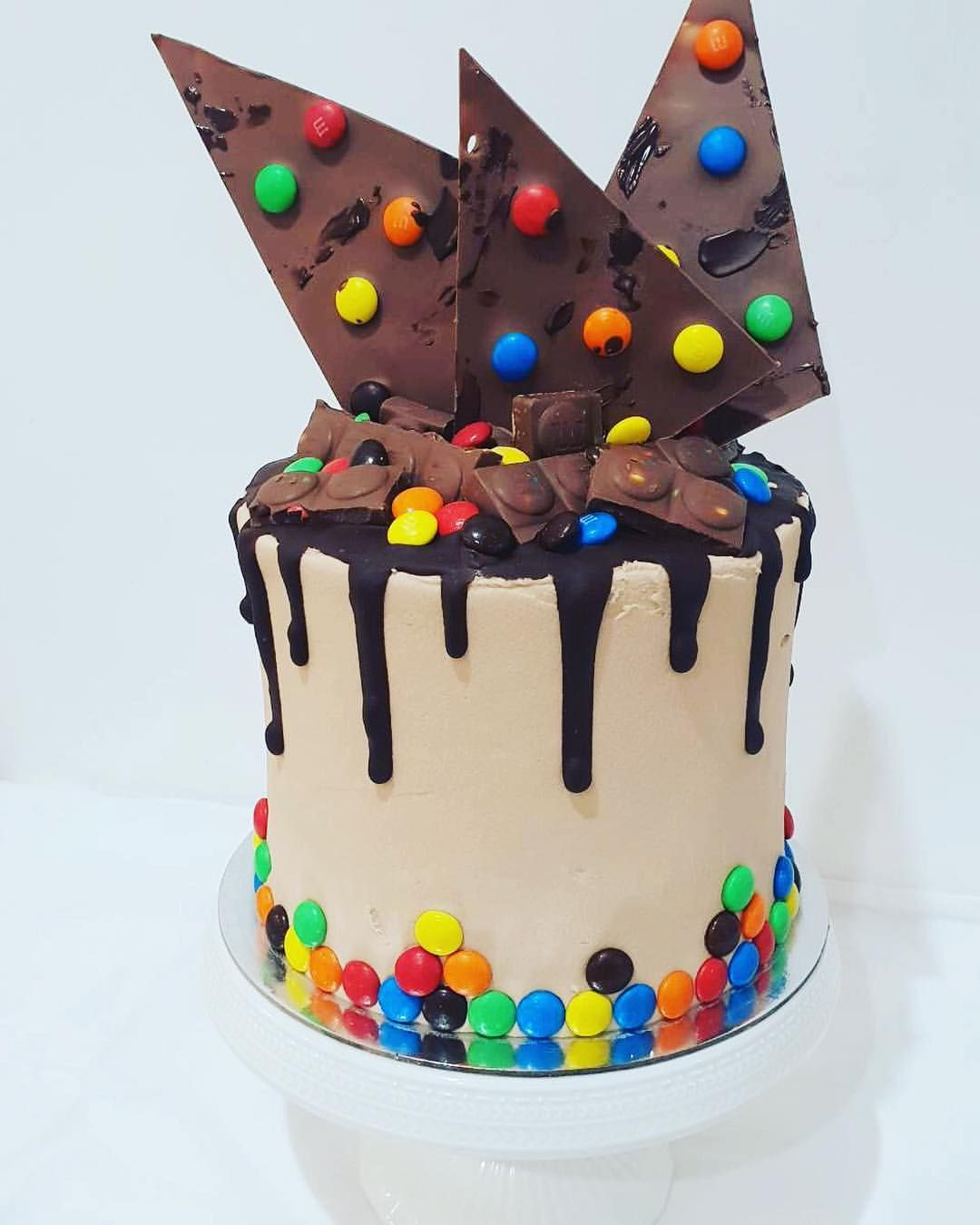 Chocolate M M Cake Chocolate Cake With Layers Of M Ms And