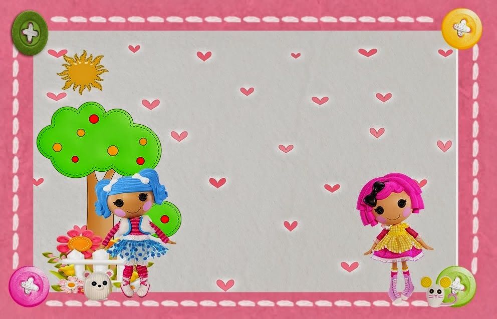 Pin by Eleni Liakou on Lalaloopsy Bithday Party Invitations