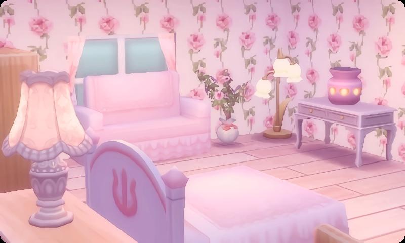 Pale Pink Wallpaper Custom Qr Credit Pale Pink Wallpaper Pink Wallpaper Animal Crossing Pc