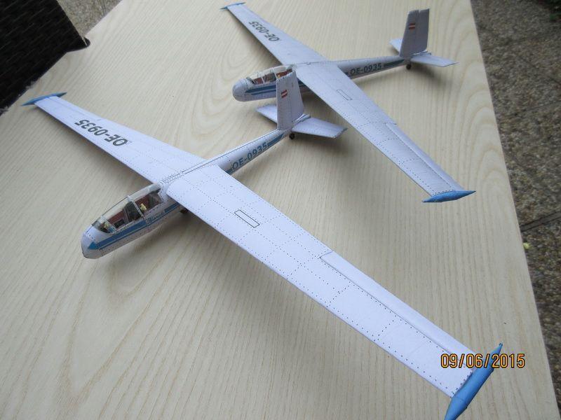 Blanik Let L13 1 33 Free Download Von Rudi Heger Papiermodell Modell Modellbau