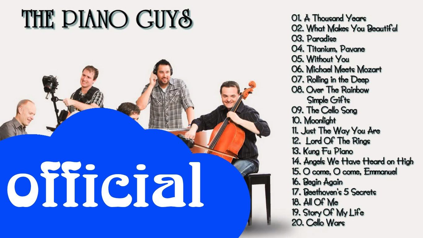The Piano Guys Greatest Hits || The Best Of The Piano Guys | Música