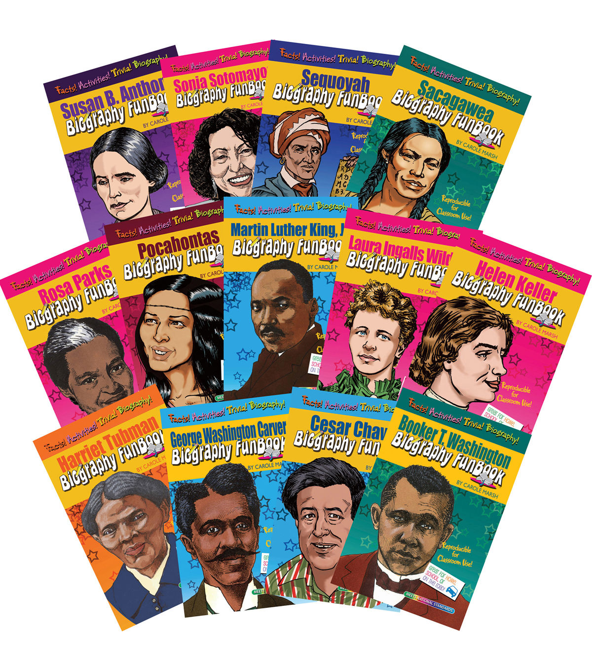 Women Amp Minorities Who Shaped Our Nation Biography Funbook