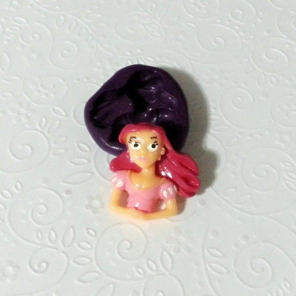 Silicone-Mold-Princess-Ariel-Little-Mermaid-Mould-30mm-Cake-Topper-Chocolate-301610645951