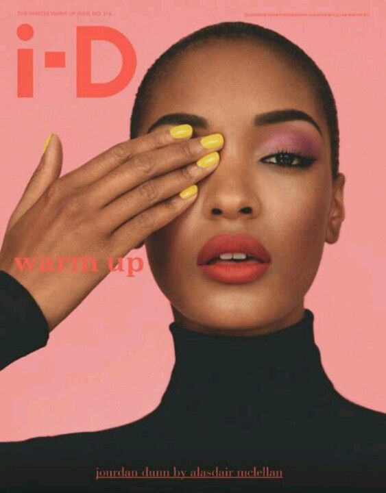 i-D Magazine with Jourdan Dunn