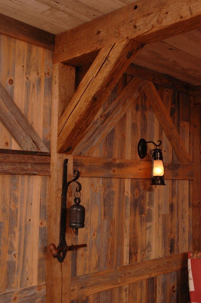 Vintage Wood Paneling: Reclaimed Antique Grey Barn