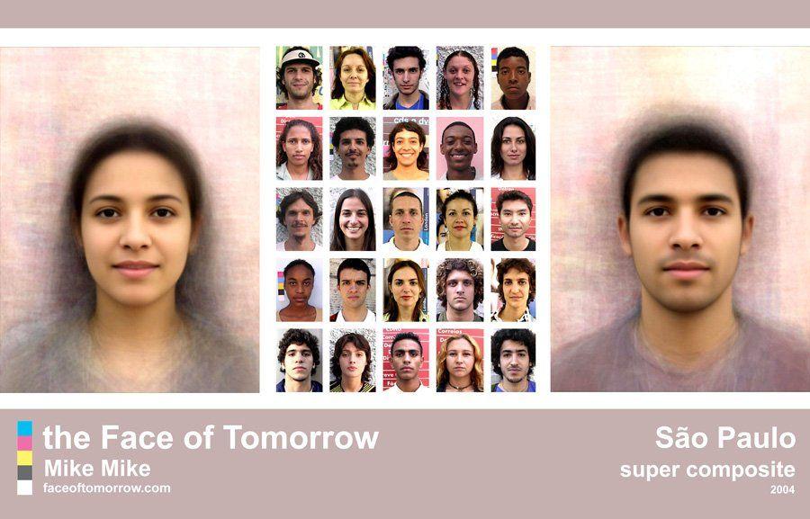 Faces Of Sao Paulo Face Average Face Male Face