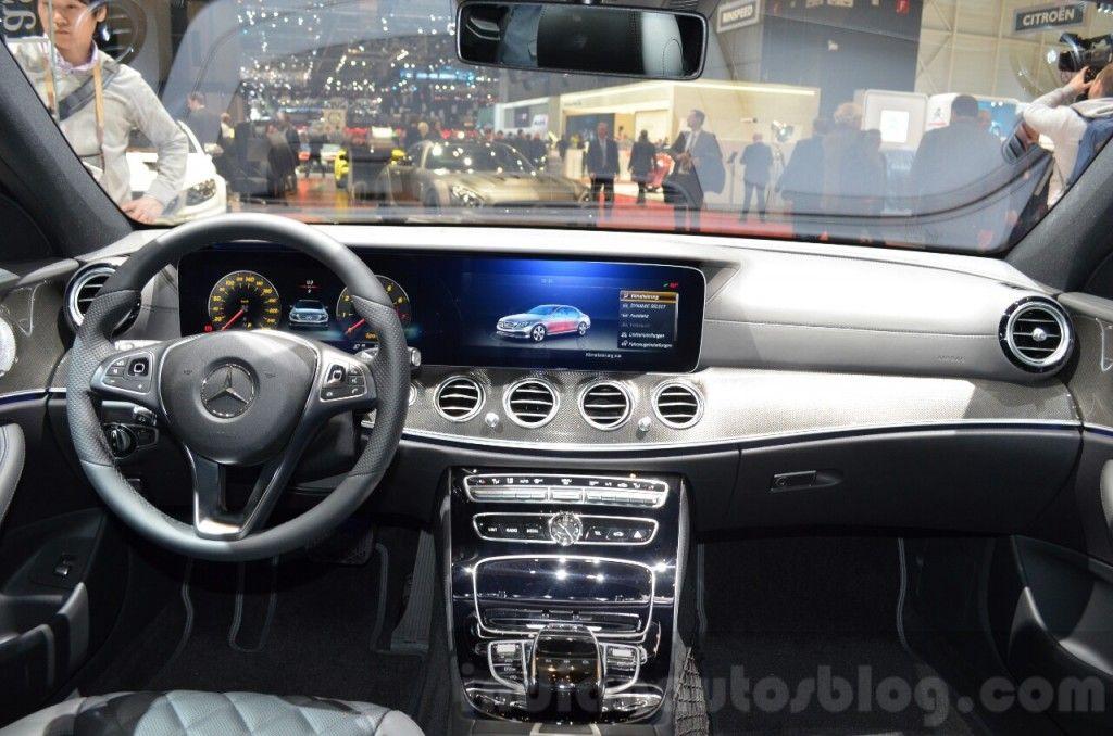 Indiabound mercedes e class w213 geneva motor show live