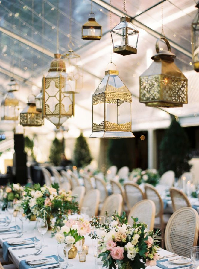 An entire wedding inspired by a single piece of fabric gold gold lantern wedding decor httpstylemepretty20170424spring western australia wedding photography katie grant junglespirit Image collections
