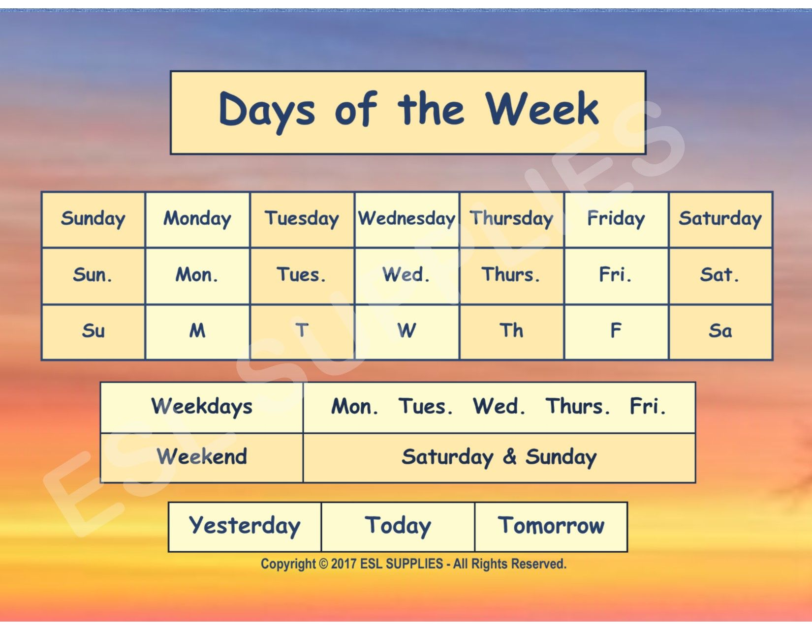 Weather Amp Seasons Printable Cards Earthsunseasons