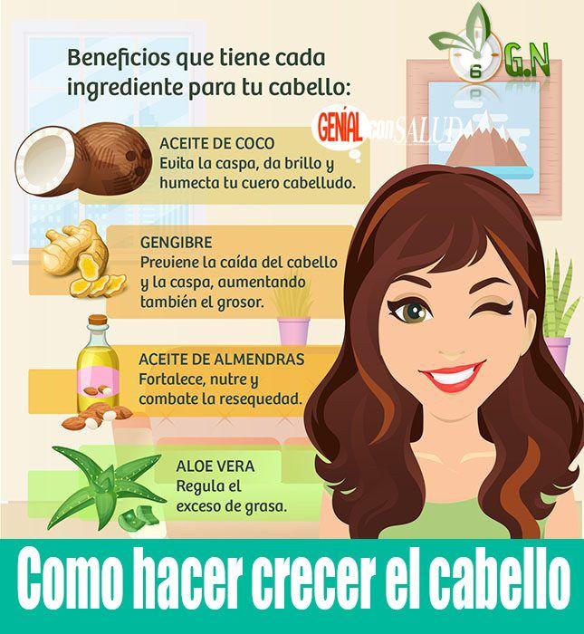 Remedios caseros para el crecimiento del cabello en mujeres