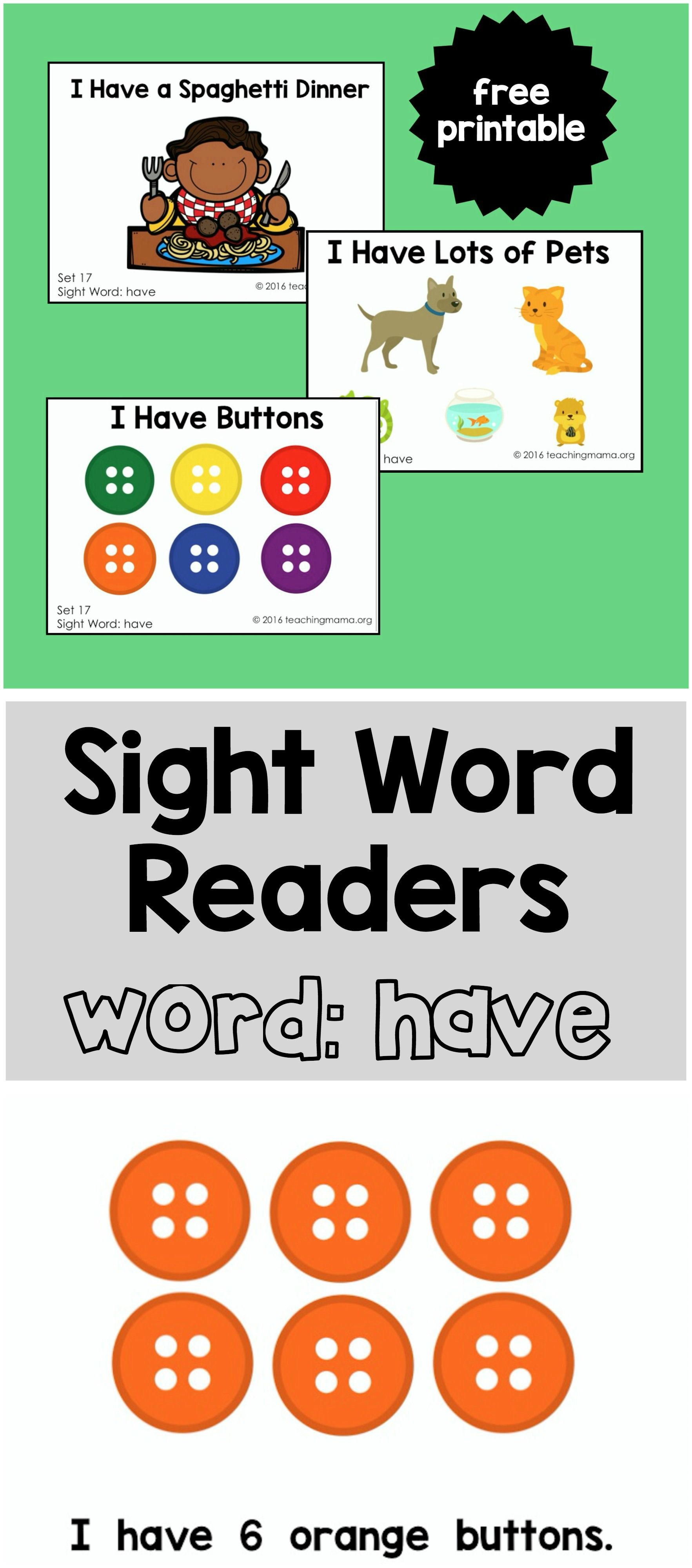 graphic regarding Printable Sight Word Readers referred to as Sight Term Guests for the Phrase \