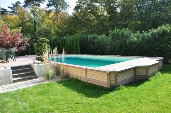 votre piscine semi enterr 233 e 30 id 233 es cr 233 atives