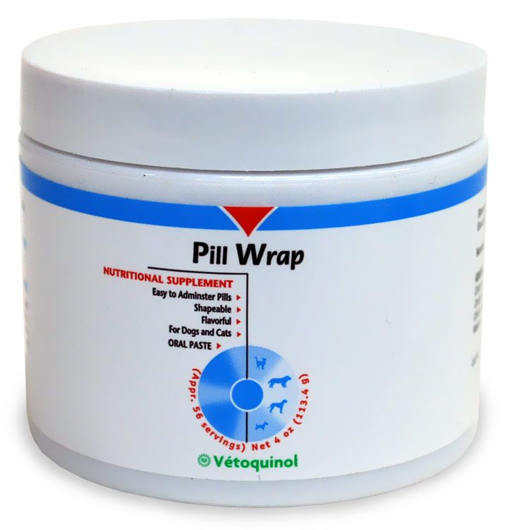 Pill Wrap offers an effective means of feeding your dog or cat its medications. With a simply pinch of Pill Wrap, you can add a flavorful, s...