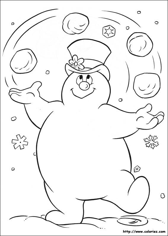 Superb image inside free printable snowman coloring pages