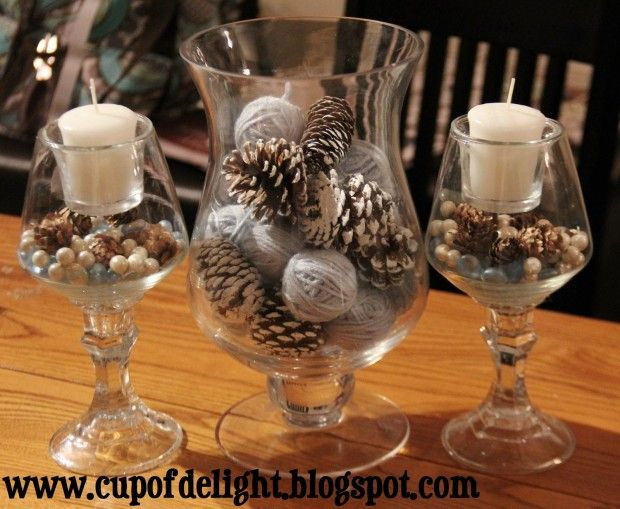 Winter Centerpiece The Best Diy Home Decorations Ever 18 Great Ideas