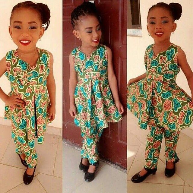 African dresses styles for girls