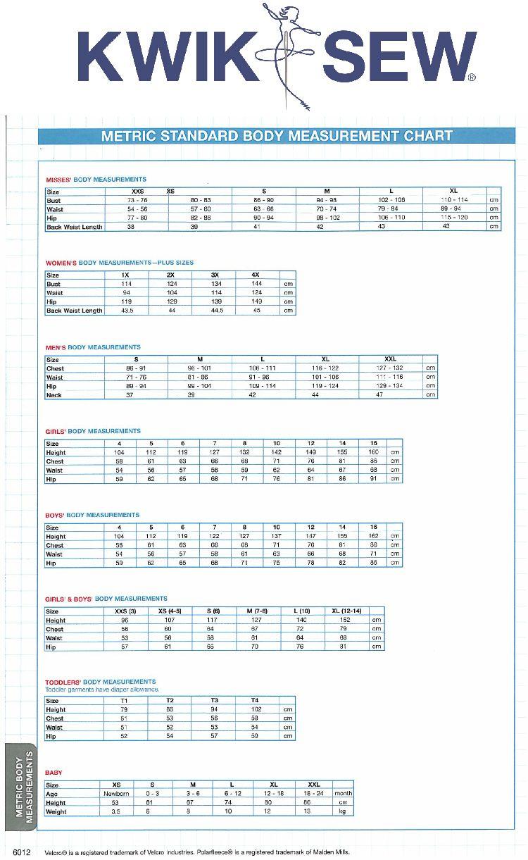 Size charts metric also body measurement conversion table chart ladies europe uk rh pinterest