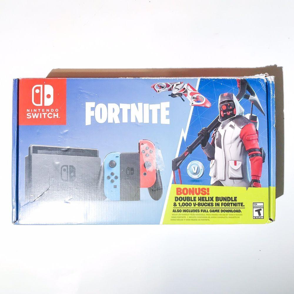 Nintendo Switch Fortnite Double Helix Console Skin Game Not Included Nintendo Switch Fortnite Double Helix