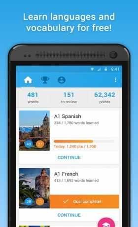 memrise learn languages free premium دانلود