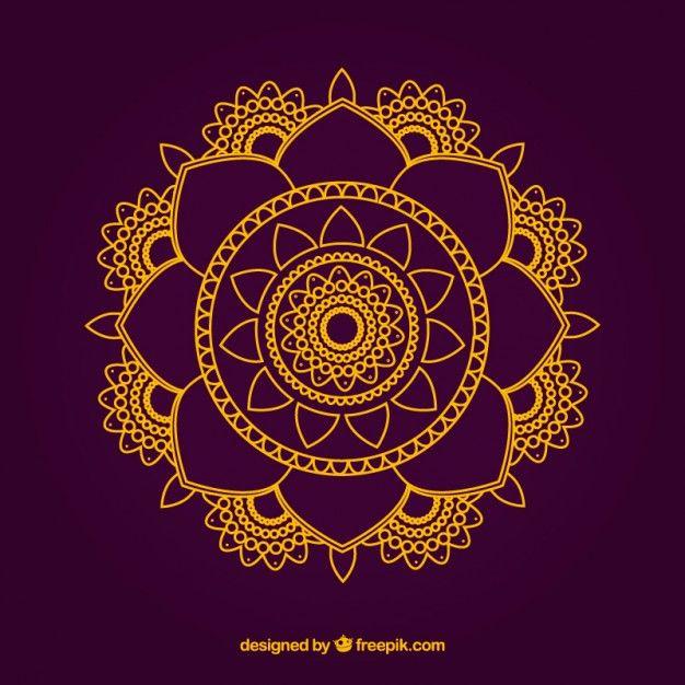 Mandala sommaire Colorful