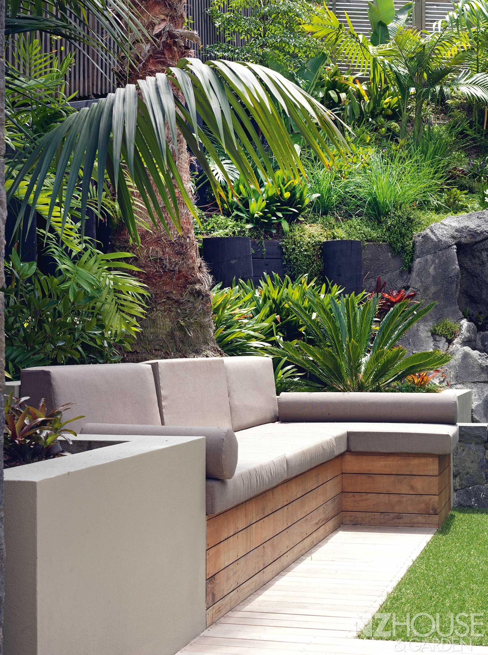 Tropical Garden Ideas Nz plants along retaining wall nz - google search | garden plans
