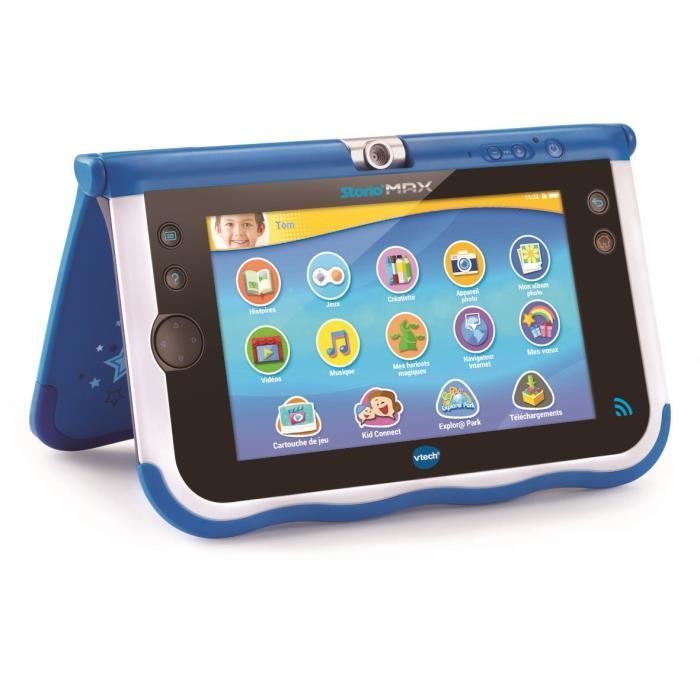 Vtech Console Storio Max 7 Bleue Tablette Educative Enfant 7 Pouces In 2020 With Images Vtech Gaming Products Max