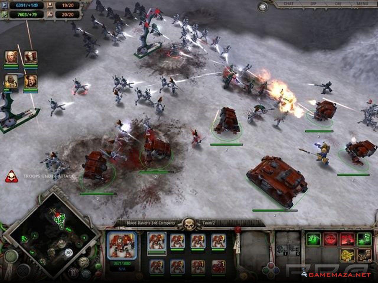 Warhammer 40000 Dawn of War 1 Free Download Warhammer