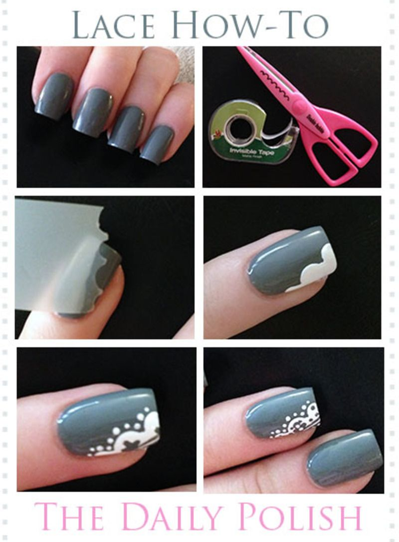 7 Ways To Make Nail Designs Using Tape Nails Cache Nail