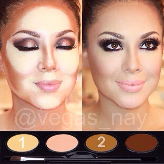 I think this should be in  how not contour. She looks like a ghost!
