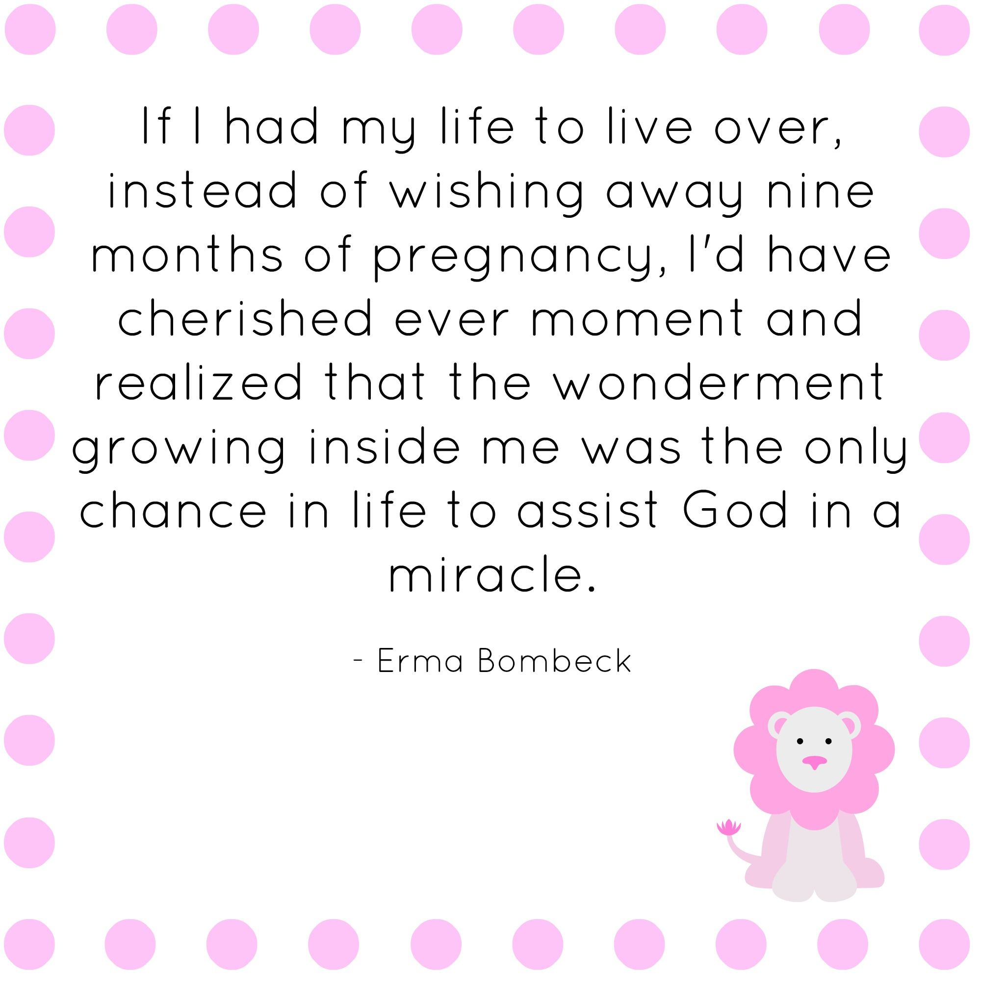 quotes about having a baby changing your life