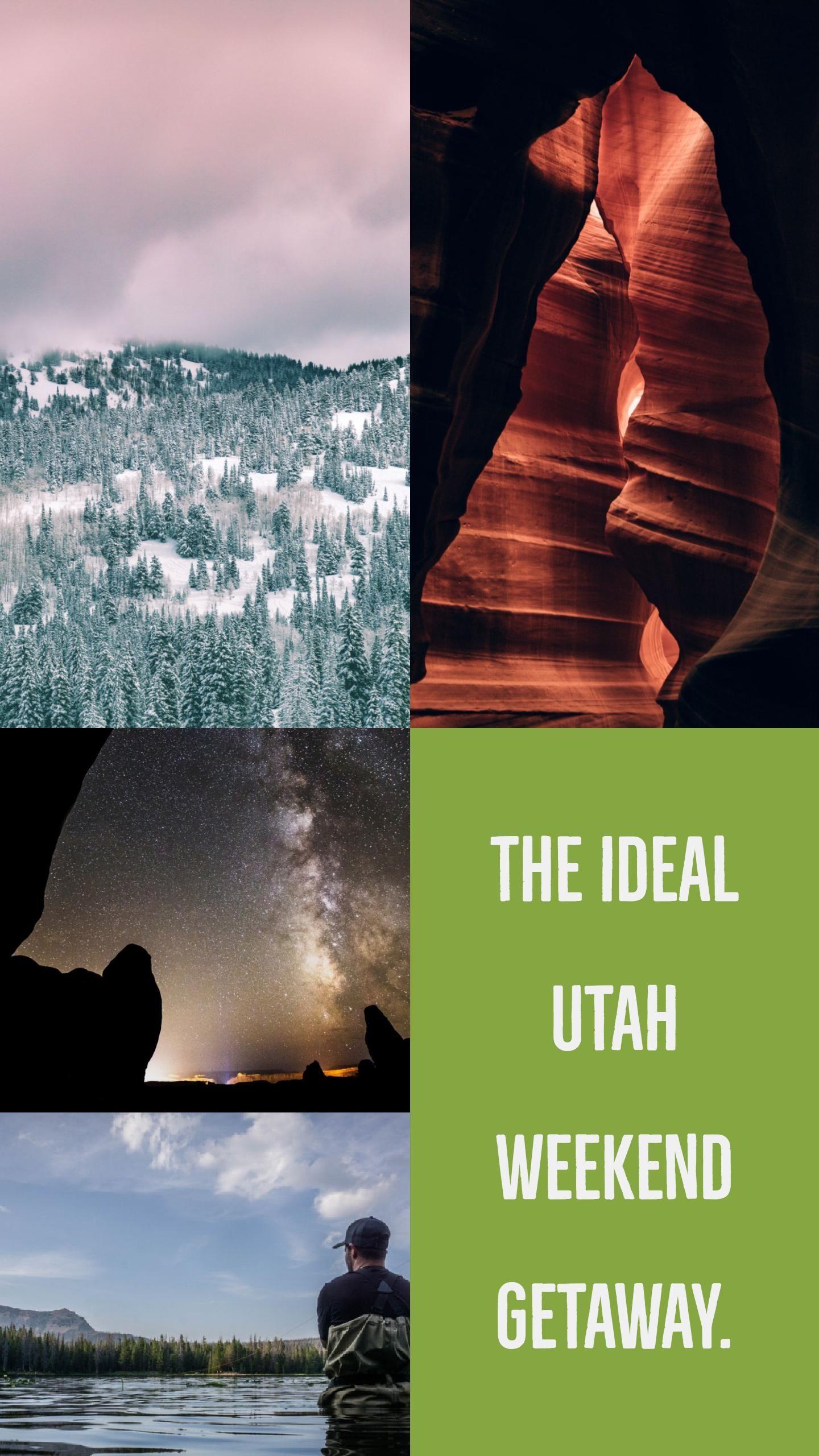 The Ideal Weekend Getaway In Utah Usa Pinterest Weekend