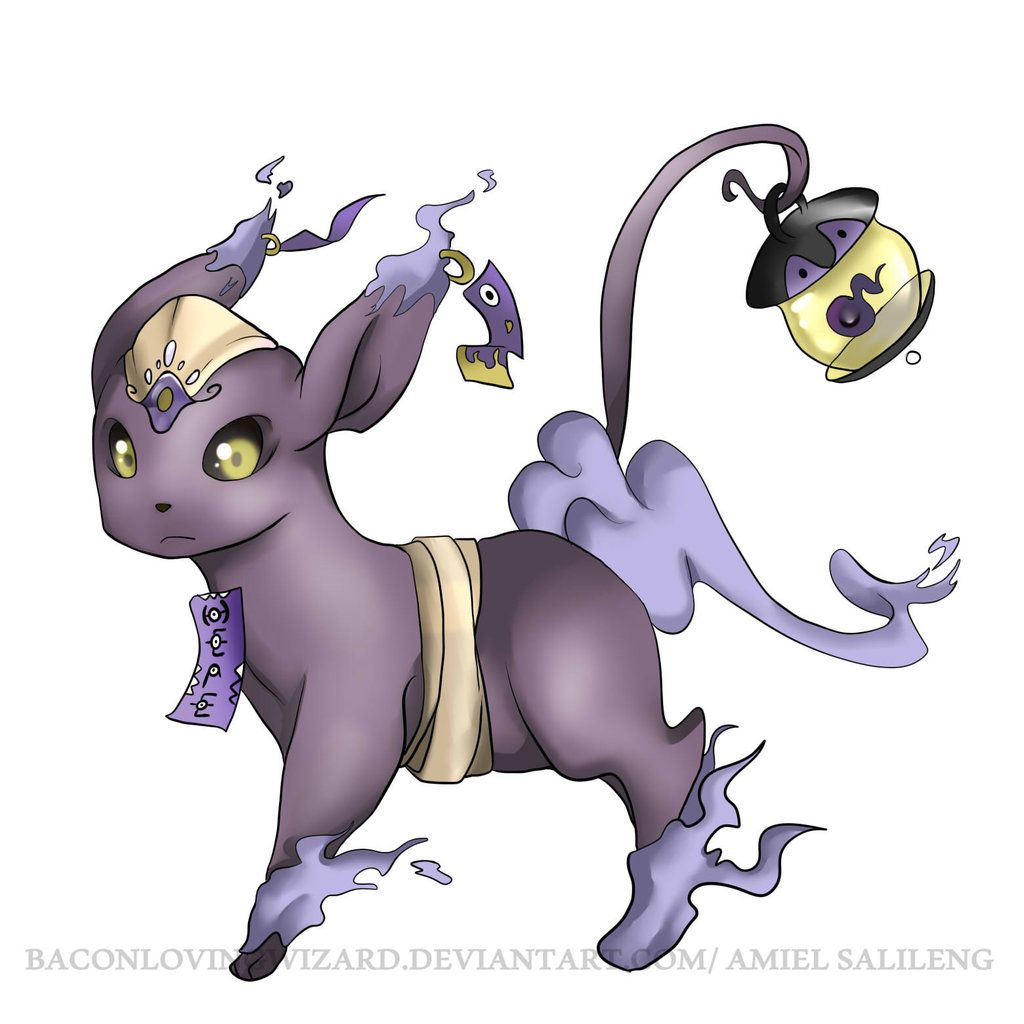 This is my favorite. | Ghost-Type Eeveelution Candidates ...