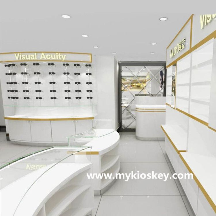 Retail Optical Shop Counter Design And Sunglasses Display Showcase For Sale Shop Counter Design Counter Design Shop Counter