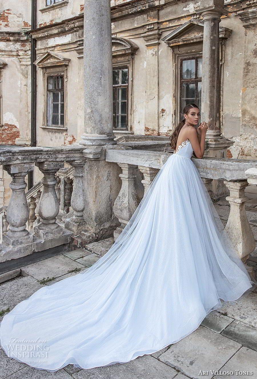 Ari Villoso Tones 2020 Wedding Dresses Allure Bridal Collection Wedding Inspirasi Allure Wedding Dresses Sheer Wedding Dress Light Blue Wedding Dress [ 1326 x 900 Pixel ]