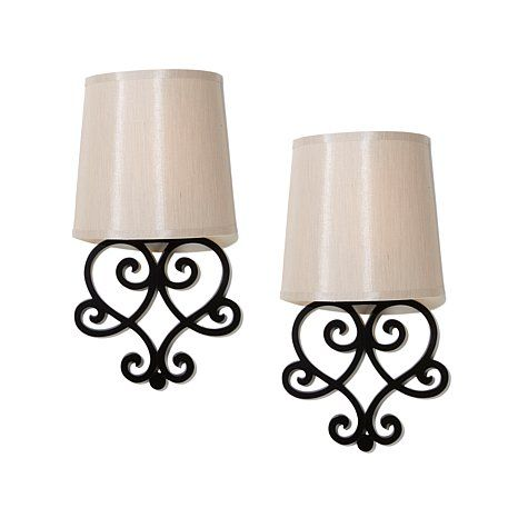 It's Exciting Lighting 2pk Battery-Powered Wall Sconce ...